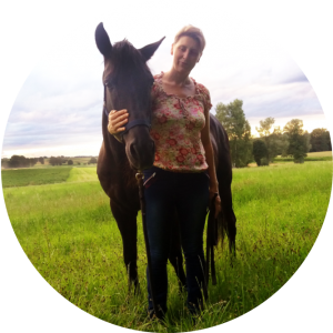 Almut Burmeister, Raidho Trainerin, Lebensfreude mit Pferden