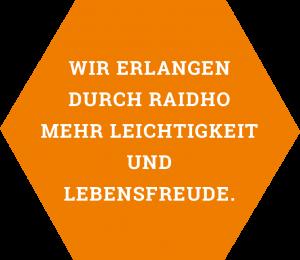 Almut Burmeister, Raidho Trainerin